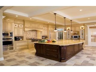 Дизайн большой кухни: планировка, стили, оформление, варианты