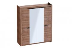 «Соренто» Шкаф 4 дверный Дуб Стирлинг