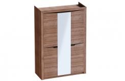 «Соренто» Шкаф 3 дверный Дуб Стирлинг
