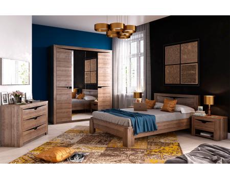 Спальный гарнитур «Соренто» Дуб Стирлинг
