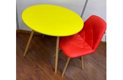 Стол обеденный GH-T 10 (Желтый)