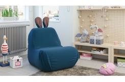 Кресло-мешок «Kids» Тип 1 (Велюр Пепельно-синий)