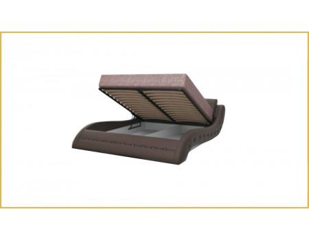 Кровать с мягким изголовьем «Аврора»