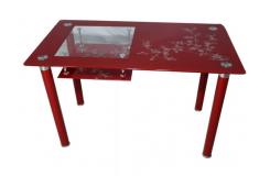 Стол обеденный А-32 Керри (Красный)