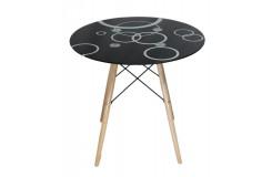 Стол обеденный DT-02-C (Черный)