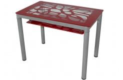 Стол обеденный В 828-2 (Красный)
