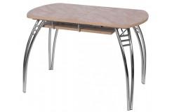 Стол обеденный Космос В5 (Мрамор бежевый)