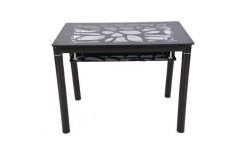 Стол обеденный В 828-2 (Черный)
