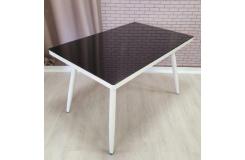 Стол обеденный DT-10 (Черный/Белый)