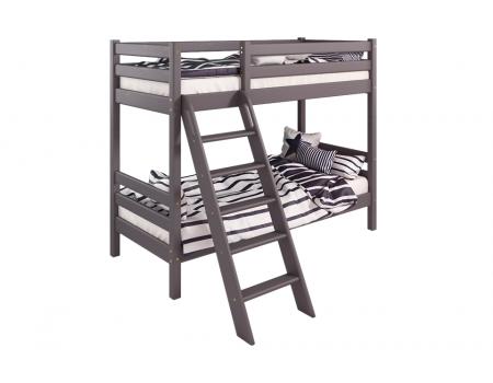 """Вариант 10 Двухъярусная кровать """"Соня"""" Лаванда с наклонной лестницей"""