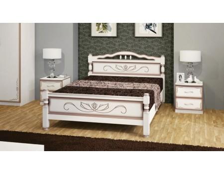 Кровать из массива «Карина-5»