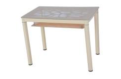 Стол обеденный В 828-2 (Кремовый)