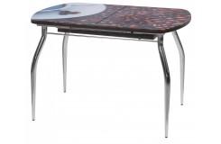 Стол обеденный Водолей-1 В5 (Кофе R06023)