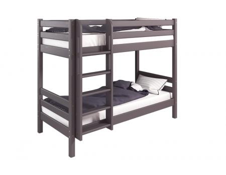 """Вариант 9 Двухъярусная кровать """"Соня"""" Лаванда с прямой лестницей"""