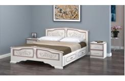 Кровать из массива «Елена» с ящиками