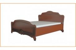 Кровать с мягким изголовьем «Лотос» (Лак)