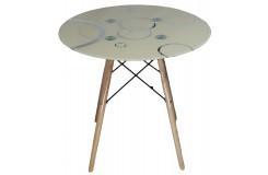 Стол обеденный DT-02-C (Кремовый)