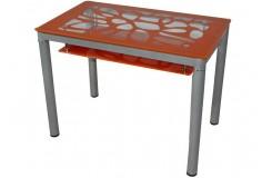 Стол обеденный В 828-2 (Оранжевый)