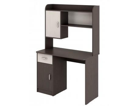 Стол компьютерный №4 (Венге/Дуб атланта)