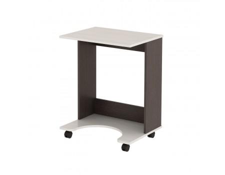 Стол компьютерный подкатной №8 (Венге/Дуб желтый)