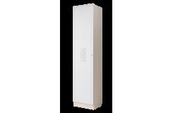 Шкаф однодверный «Грейс» 500 ГРС2 (Дуб Атланта/Африканская лапачо)