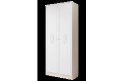 Шкаф двухдверный «Грейс» 900 ГРС3 (Дуб Атланта/Африканская лапачо)