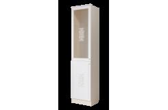 Шкаф-витрина «Грейс» 500 ГРС1 (Дуб Атланта/Африканская лапачо)