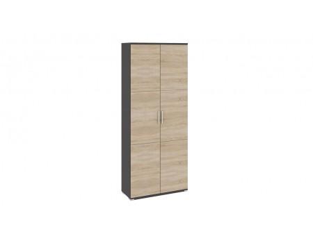 Шкаф для одежды «Успех-2» (Венге Цаво, Дуб Сонома)