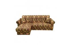 Угловой диван Кардинал-5 с классическими подлокотниками