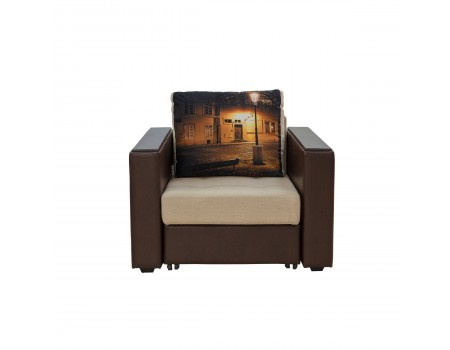 Кресло-кровать Оливия-2 с подлокотниками